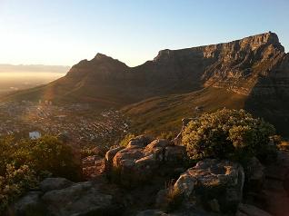Tafelbergbesteigung